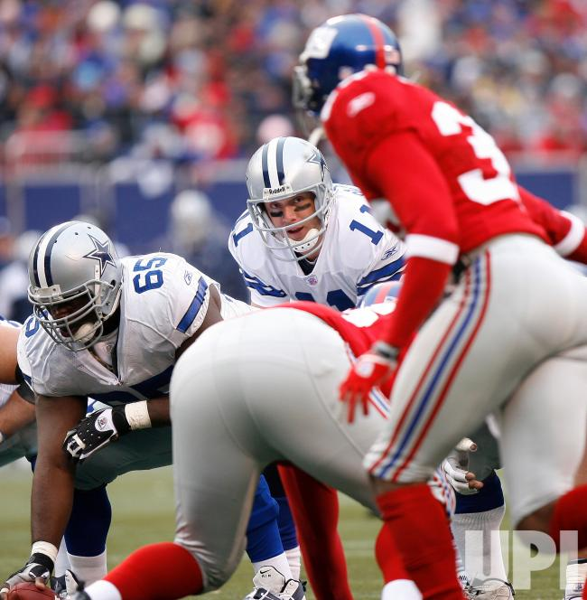 The beginning of an infamous December slide for Drew Bledsoe began on a cold, windy afternoon in East Rutherford. Looking lost and helpless against a tenacious New York pass-rush, Bledsoe completed just 15-of-39 passes for 146 yards, and was responsible for three of Dallas' four turnovers. This 17-10 defeat was the first of three during the season's final five games, as the Cowboys went from division leaders to the outside looking in at the playoffs.