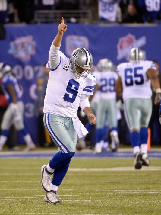 In what will surely go down as one of this series' more compelling finishes, Tony Romo wrote the last chapter, firing a 13-yard touchdown pass to Dez Bryant to complete a long and winding comeback and give the Cowboys a 31-28 victory. Dallas had trailed by eleven points on two different occasions, but a third-quarter interception by Dallas safety Barry Church changed the tenor of the game. Romo's three second-half scoring passes (two to Bryant & one to Cole Beasley) erased a 21-10 halftime deficit.
