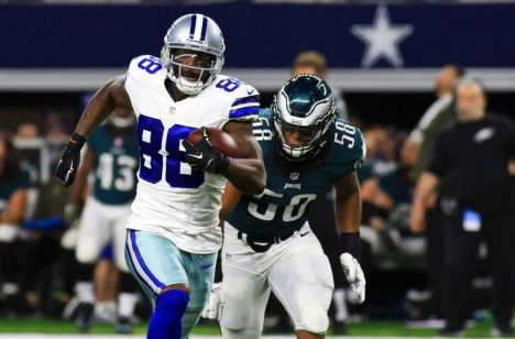 Dez Bryant's 104-yard performance gave the Cowboys a chance to steal a victory against a division rival.  But a first-half mis-connection with his QB proved costly in the end.