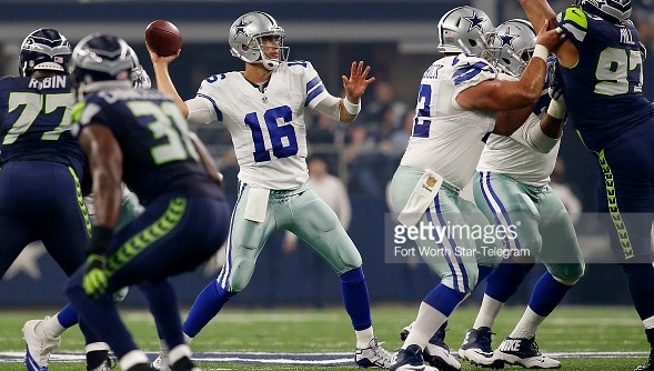 Cassel Earns Dubious Distinction In Loss To Seahawks