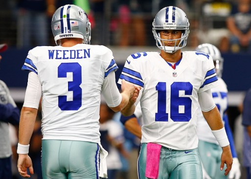 Despite displaying a better handle of the Cowboys offense, Matt Cassel has yet to separate himself from Brandon Weeden in the category of victories.