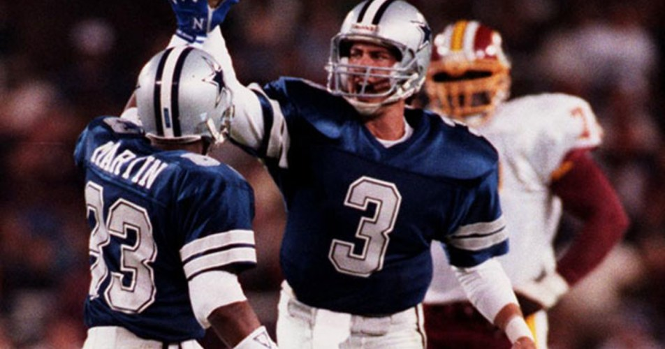 Dallas' only victory in a dreadful 1989 season came on a Sunday night in Washington, as Steve Walsh led an upset of the defending Super Bowl champions.