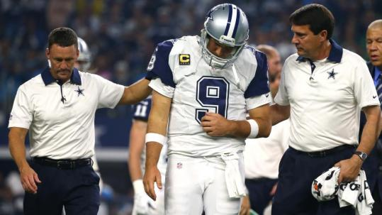 Despite a slew of recent injuries to his 35-year old quarterback, Dallas Cowboys owner Jery Jones told a local radio station on Tuesday that he foresees Tony Romo playing another four or five years.