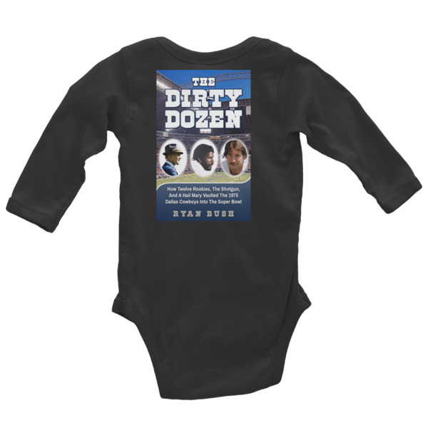Dallas Cowboys – The Dirty Dozen – Infant Long Sleeve Bodysuit