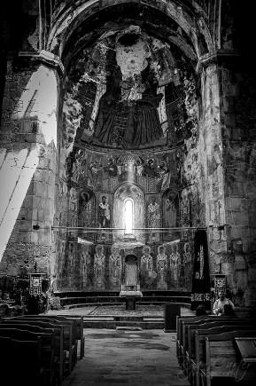 Interior of the Akhtala Monastery