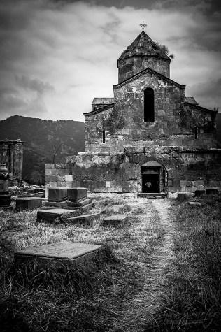Odzun Church is an Armenian basilica constructed around the 5th-7th century in the Odzun village of the Lori Province of Armenia.