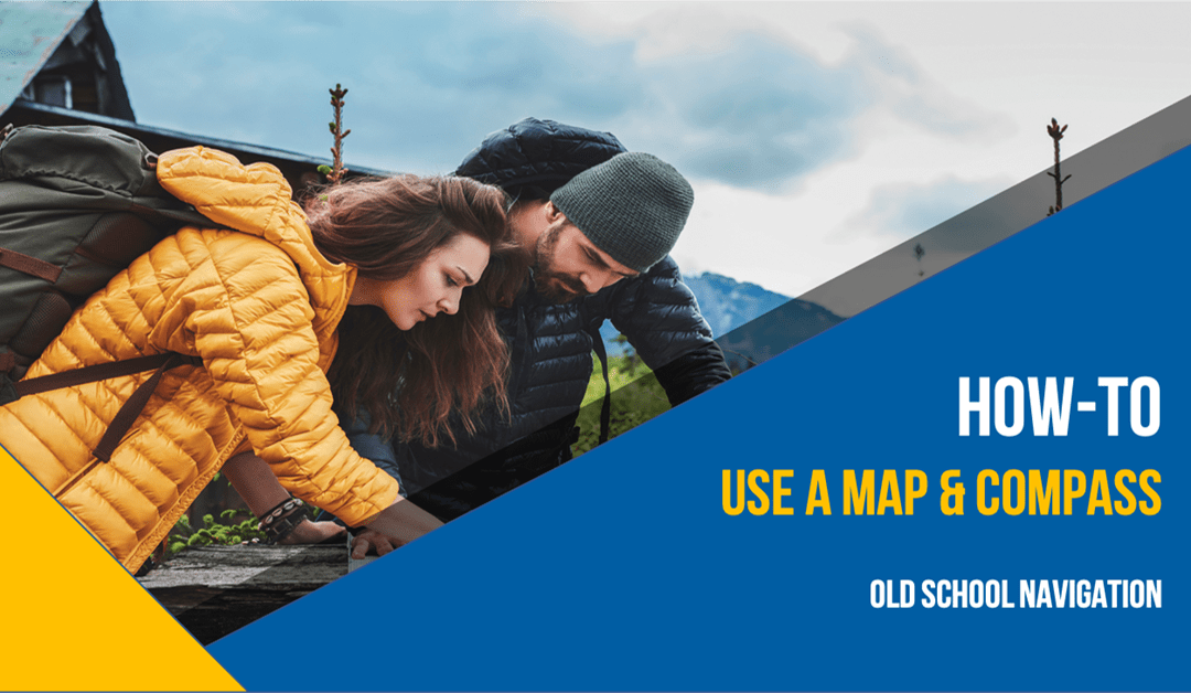 """Old School Navigation: How To Use a Map & Compass"""