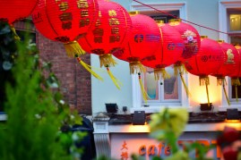 Lanterns at the base of the gate. Like many cities, Chinatown has shifted to many different parts of the city over time, only landing in Soho in the 1970s. (Before it seemed to be a run-down neighborhood). The first Chinatown was started in East London sometime in the late 19th century, catering to the Chinese sailors involved with the opium trade.
