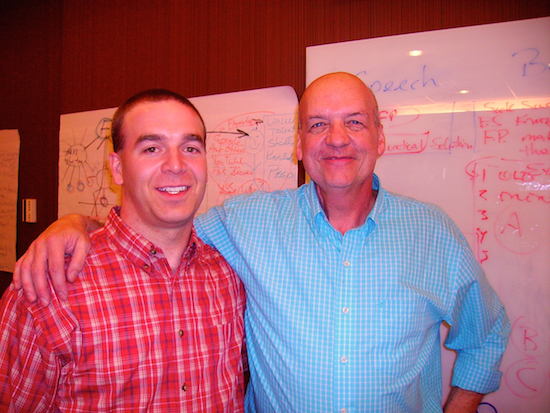 Ryan with Rick Butts, Denver, November 2013