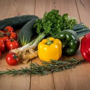 Farm fresh vegetables available in season