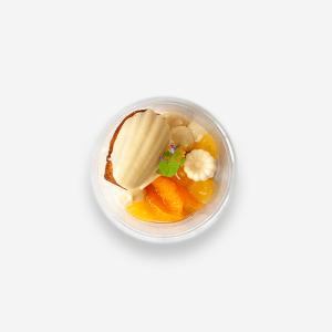 lavendel dessert sinaasappel Ryan Foodshop, ryan Bahadoer