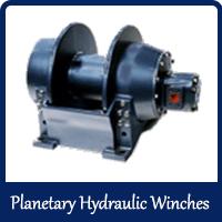 Planetary Hydraulic Winches