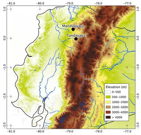 Fig. 1. Manduriyacu Location