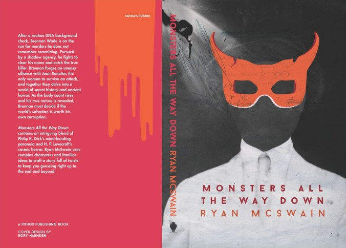 Monsters All the Way Down wraparound cover