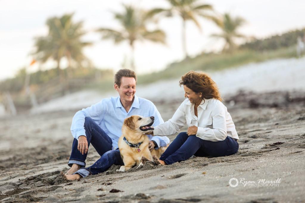 Beach Family Pet Photography