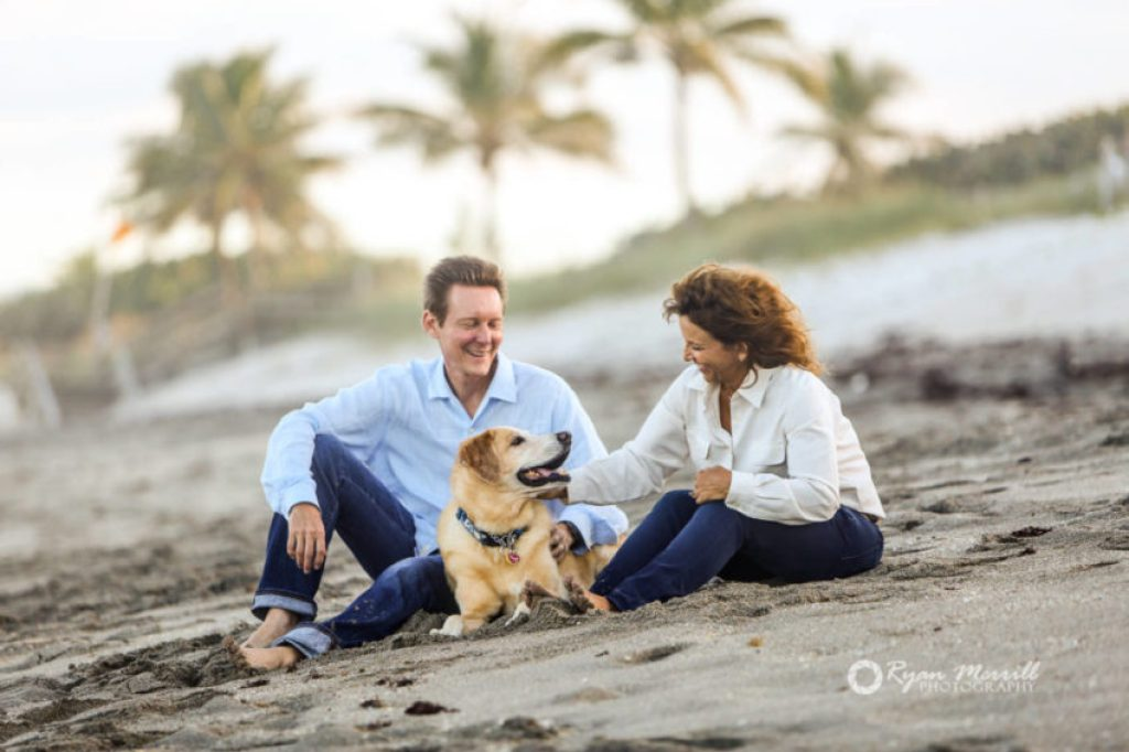 Beach Family Pet Photography