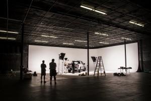 Ryan Merrill automotive studio shoot in west palm beach