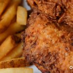 Southern Fried Chicken Food Photography