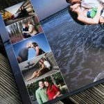 wedding Album - Custom designed pages leave room for the details, while maximizing the impact