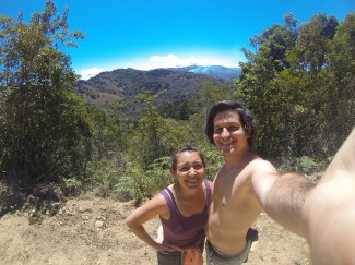 April 2015 - Hiking in a beautiful mountainous region of Costa Rica!
