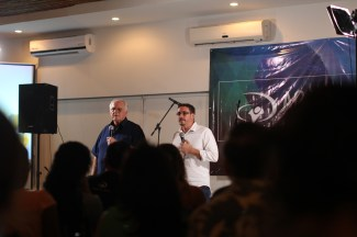 May 2015 - Hearing from YWAM's founder Loren Cunningham. It's so incredible that because of His response to a vision he had (over 50 years ago) of waves of young people going out into the Nations, there are now hundreds of thousands of people who have been trained and championed from everywhere, and going everywhere to make God known. We are so thankful for Loren's example of radical obedience to God, and so grateful to be part of this.