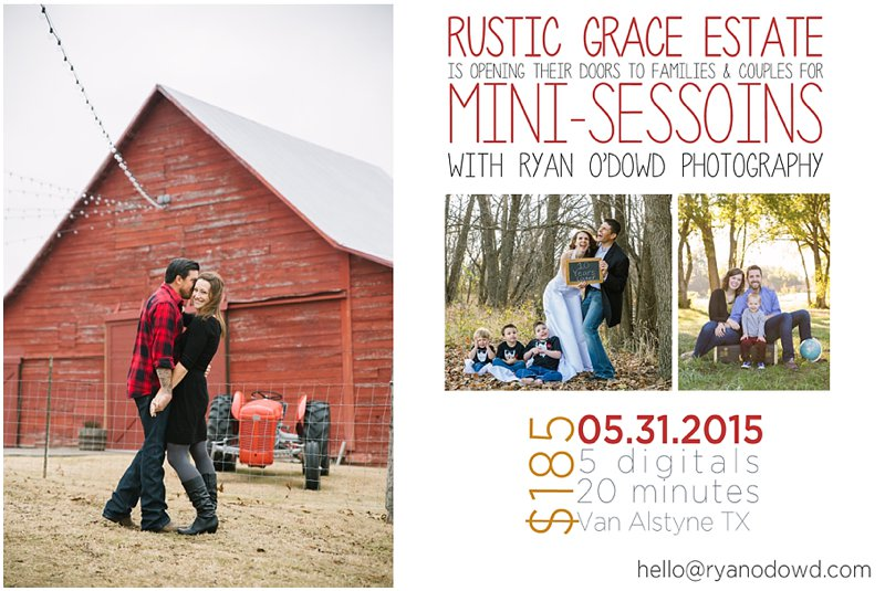 Rustic Grace's red barn wedding venue dallas