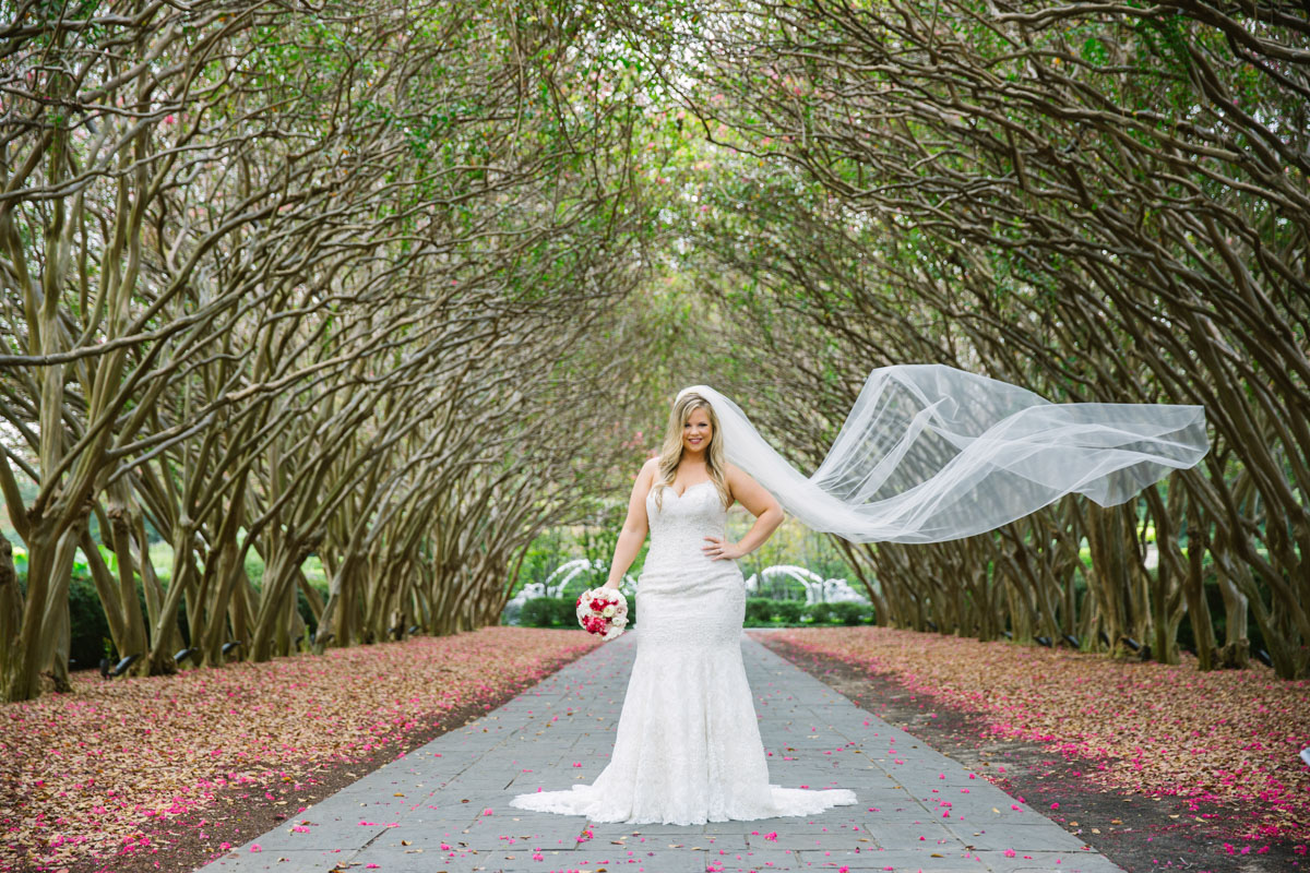 dallas arboretum photography bridals