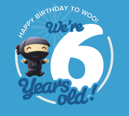 Happy 6th Birthday WooThemes
