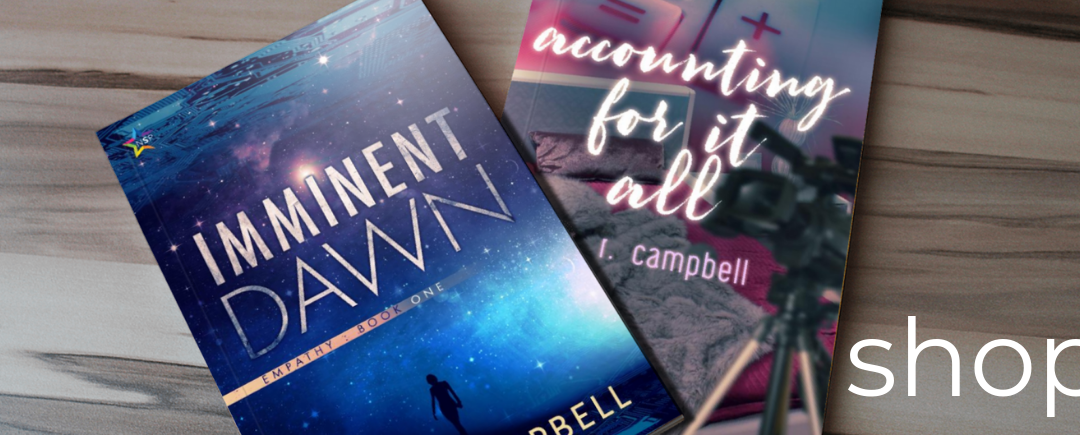 R.R. Campbell Writes – Shop Now Open!