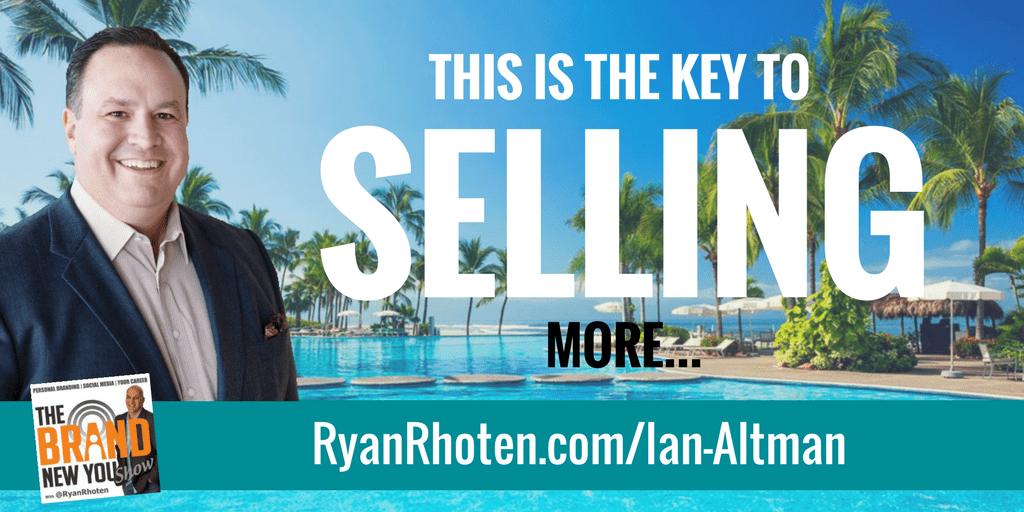 Ian Altman Upside down Selling