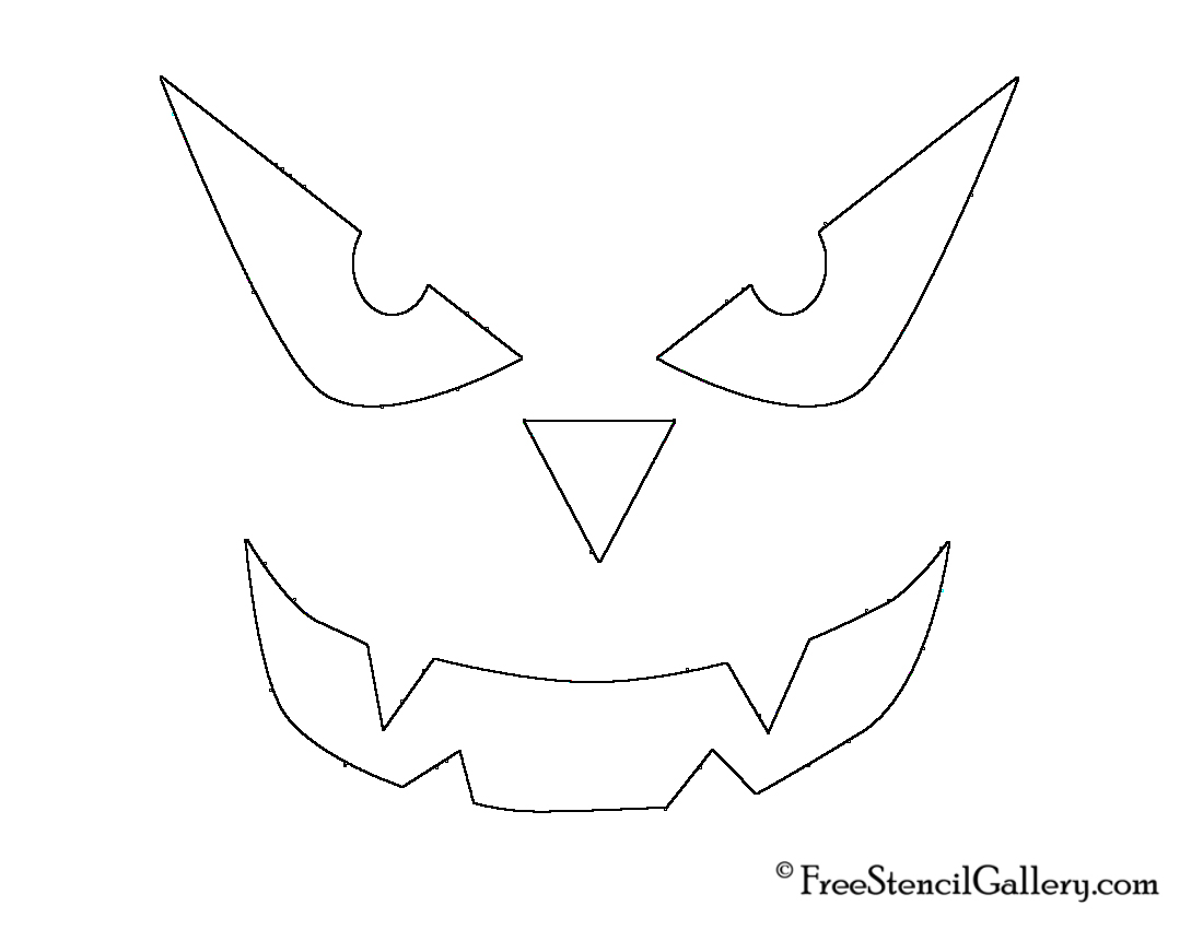 Family Friendly Jack O Lantern Stencils