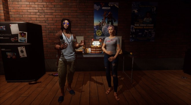 Drax and Ria at Drax's Birthday 114 Harvest 25 August 2017