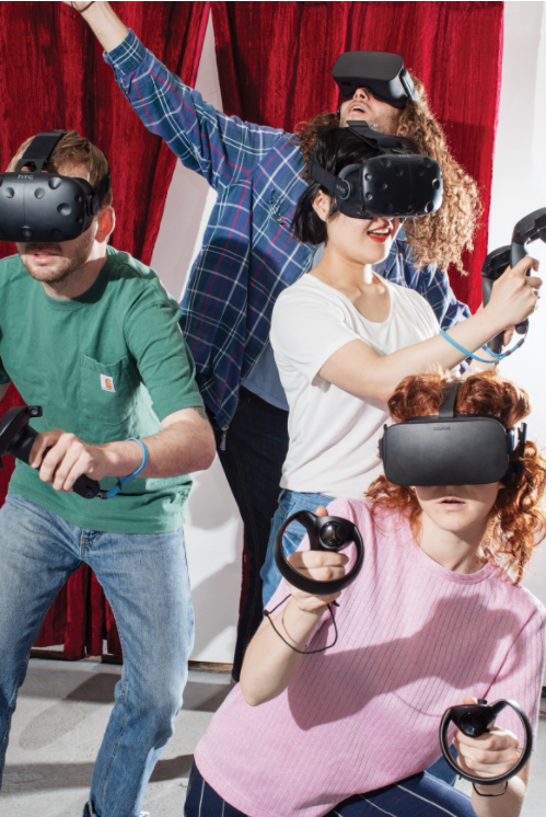 Stupid Pictures Promoting Virtual Reality