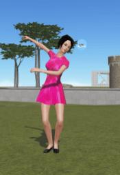 Cloud Party Pink Dress
