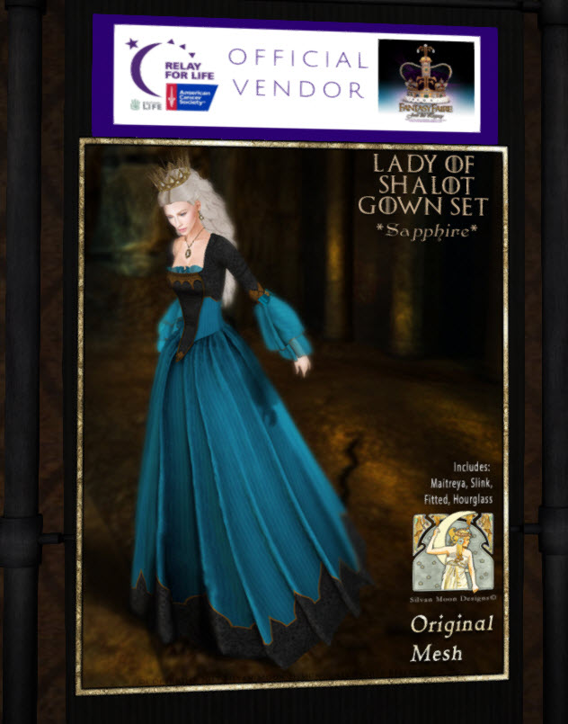 Lady of Shalot Gown 19 Apr 2018