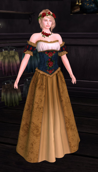 Scarborough Fair in Snow White Gown by Oubliette 19 Apr 2018