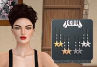 OXIDE Star Earrings