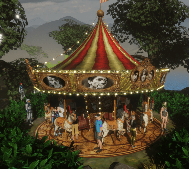 Ryan's Garden Carousel 12 May 2018