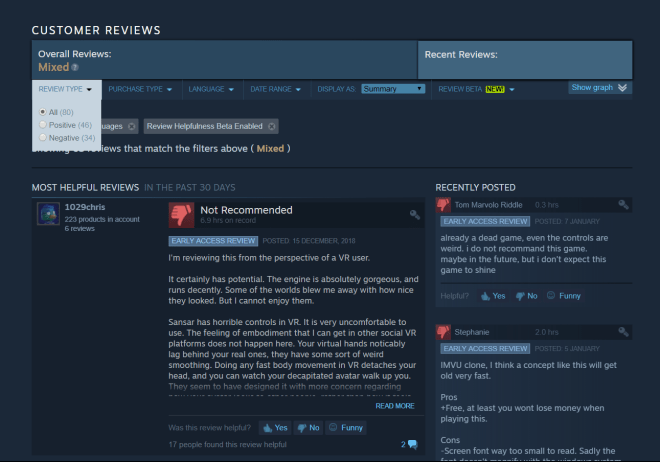 Sansar Steam Reviews 8 Jan 2019.png
