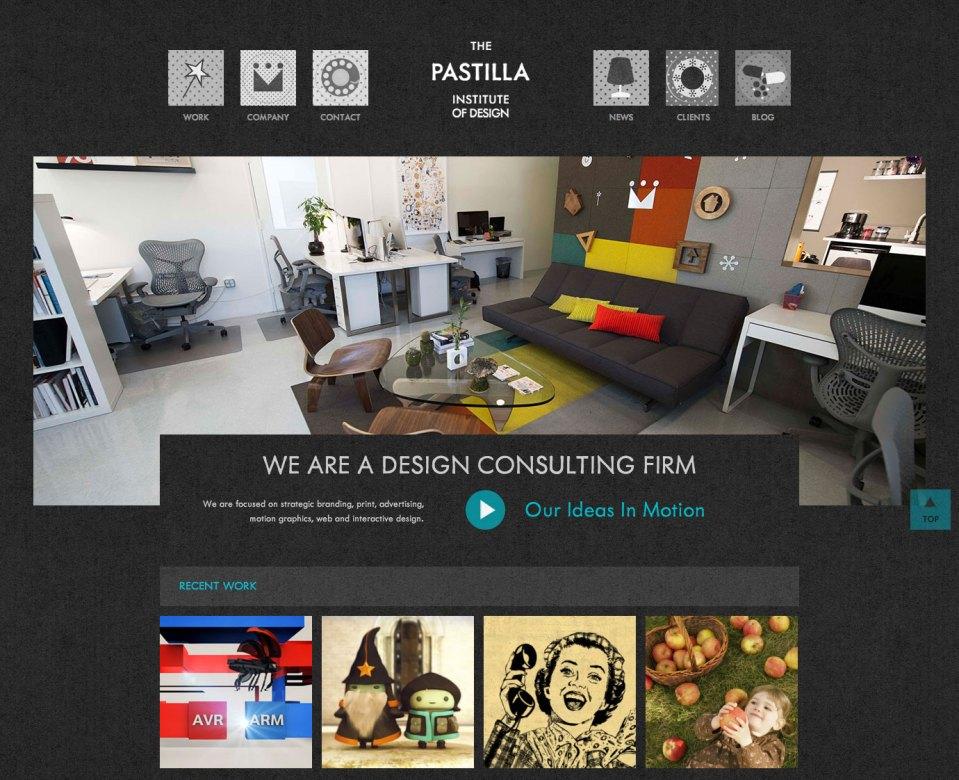 The Pastilla Institute of Design Homepage