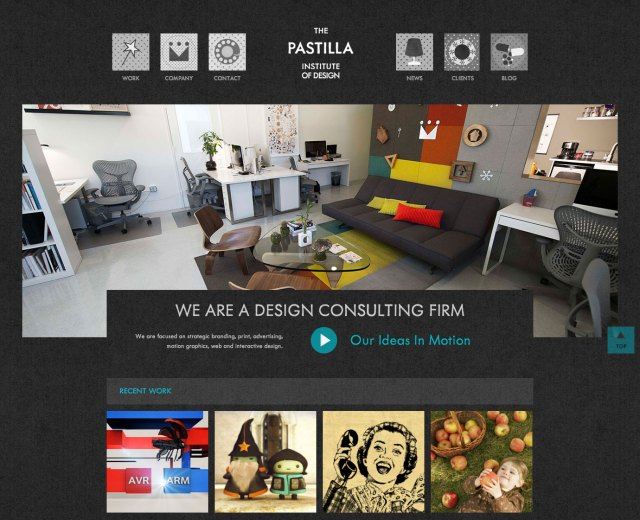 The Pastilla Institute of Design Homepage