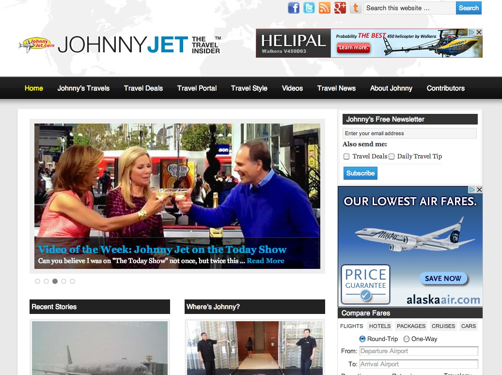 JohnnyJet.com