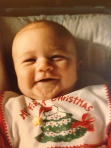 Ryan when he was just 3 months old.