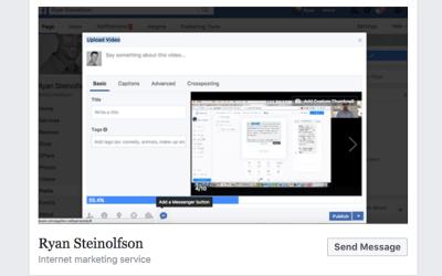 Facebook Messenger Subscribers From Facebook Posts
