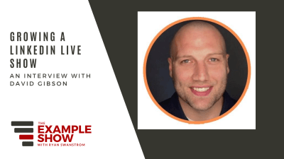 David Gibson - Building a Live Show