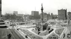 Public Square, Cleveland 1907 (Original from shorpy.com)
