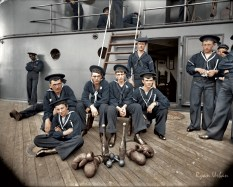 The Athletes of the U.S.S Oregon, Circa 1897