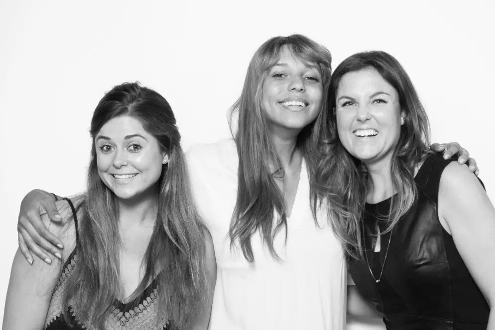 The Offline Society DC team, from left to right: Chelsea Raab, Jonna Humphries and Rebecca Yarbrough. Photograph courtesy of Rebecca Yarbrough.