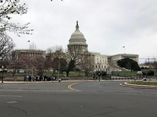 Visitors at the U.S. Capitol