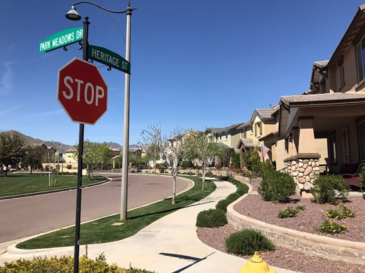 One of the things I learned about Buckeye is that the homes are very affordable.